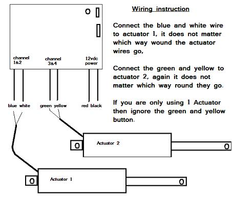 wiring a linear actuator 12v wiring image wiring wiring diagrams for linear actuators remotes wiring auto on wiring a linear actuator 12v