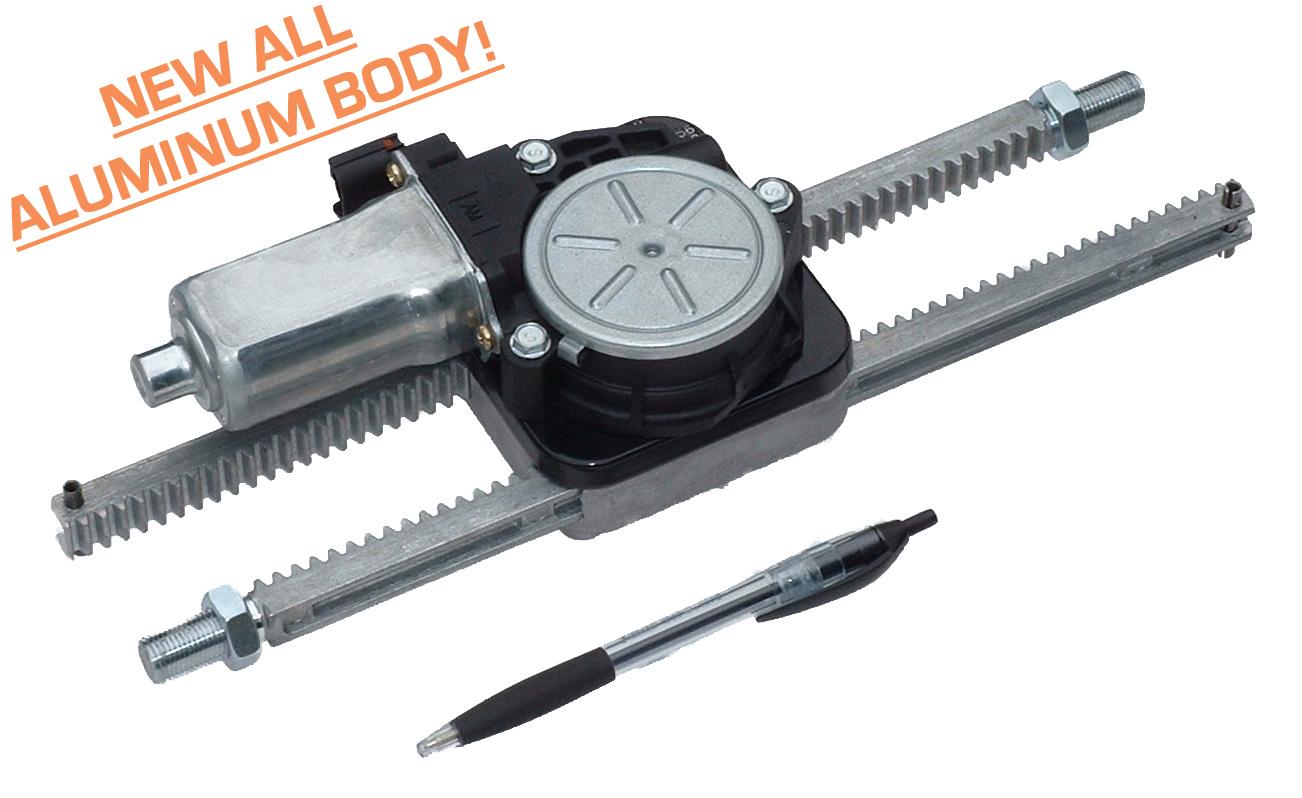 Dual rack and pinion actuator