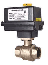 Electric Actuated Brass Ball Valve