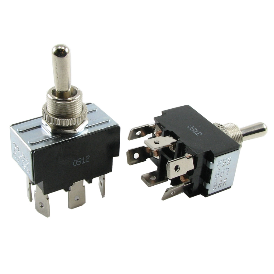 TS2P2TMM Momentary DPDT Reversing Toggle Switch Heavy Duty