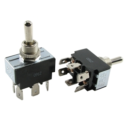 TS-2P2T-MM  Momentary DPDT Reversing Toggle Switch Heavy Duty